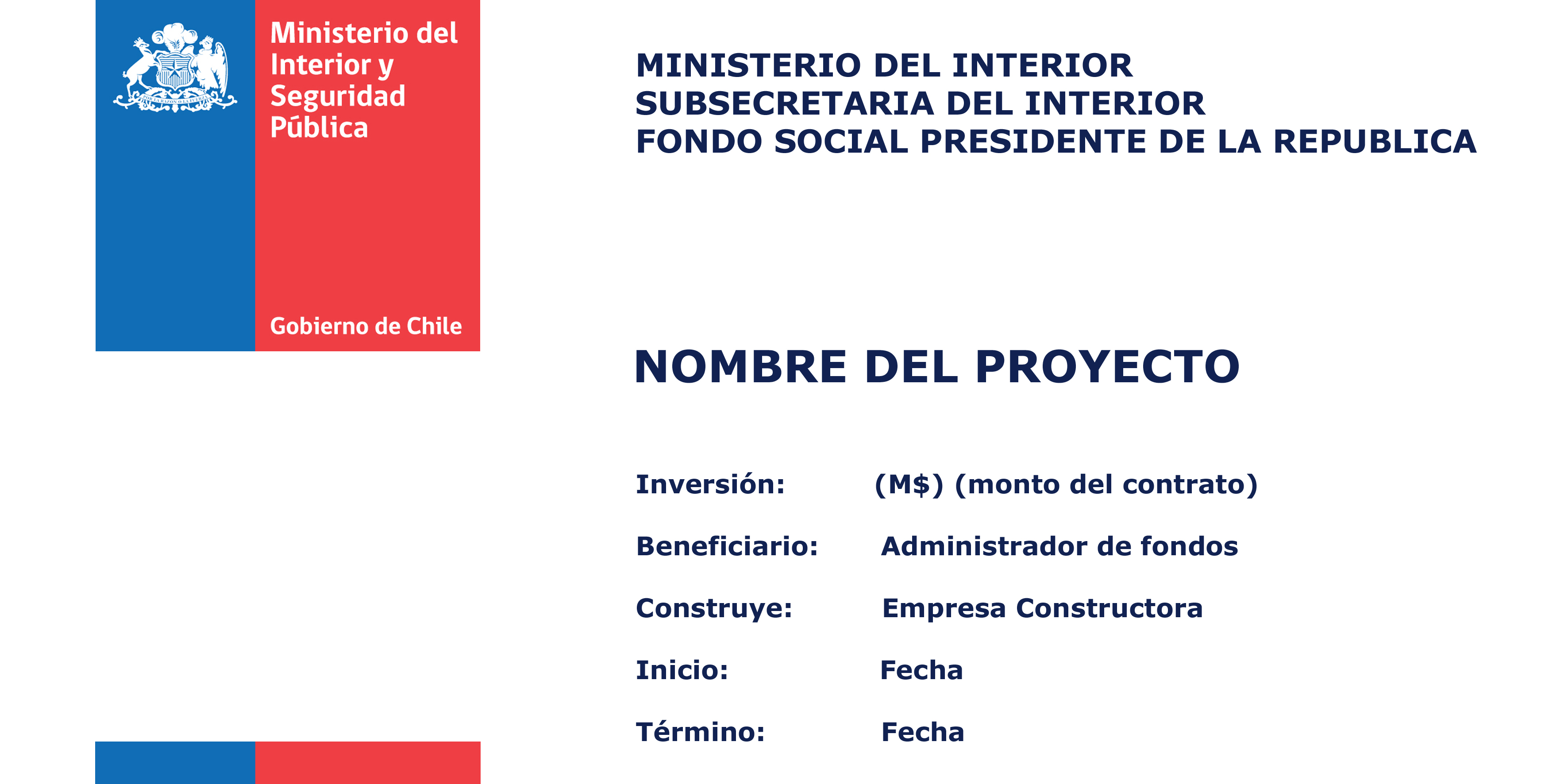 Subsecretaría del Interior – Ministerio del Interior y Seguridad ...
